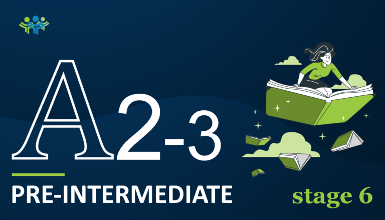 A 2-3 pre-intermediate stage 6