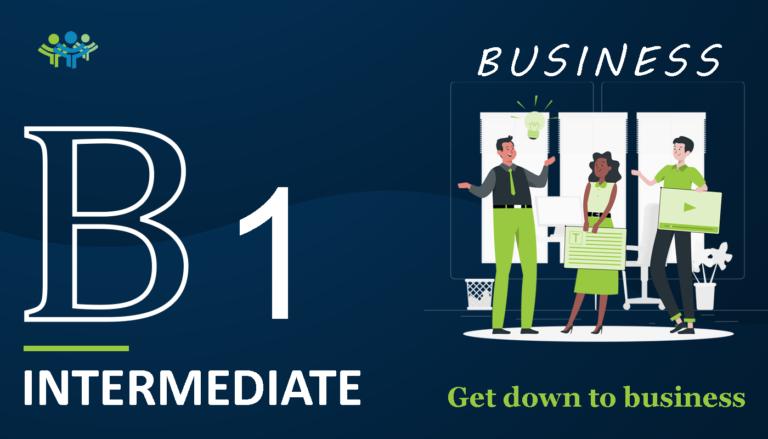 B 1 intermediate business