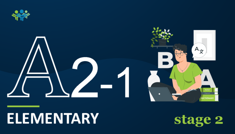 A 2-1 elementary stage2
